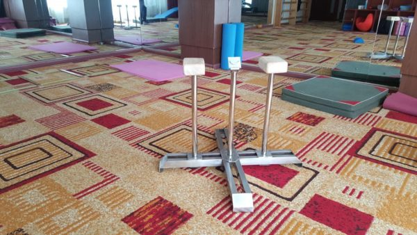 Contortion static base with 55cm hand stand cane